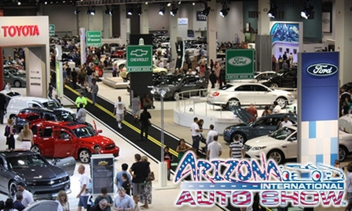 2011-Model Arizona International Auto Show - Downtown Phoenix: $4 for One Ticket to Motor Trend's 2011-Model Arizona International Auto Show at the Phoenix Convention Center (Up to $9 Value). Choose One of Four Dates.