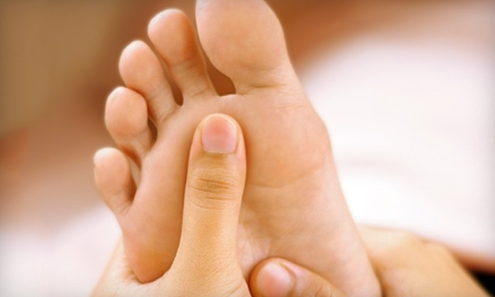 null - Carlsbad: $32 for Foot Reflexology and Detox Foot Bath at Healing Touch Reflexology in Carlsbad ($75 Value)