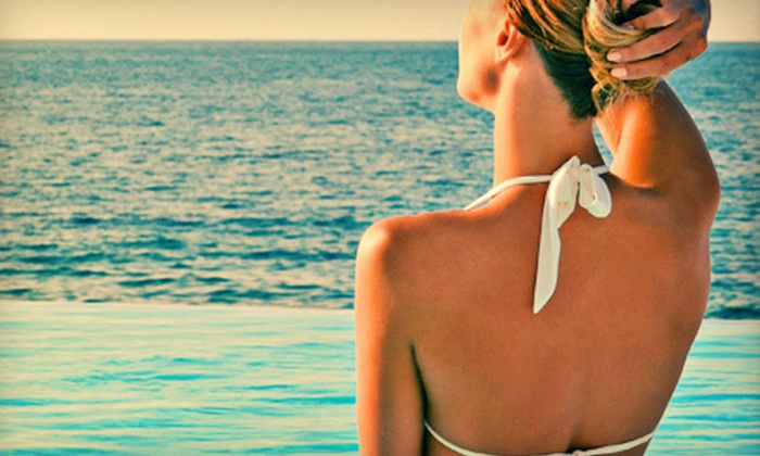 Luxurious Sunless Tanning - South Side: $20 for a Mobile Full-Body Spray Tan from Luxurious Sunless Tanning ($40 Value)
