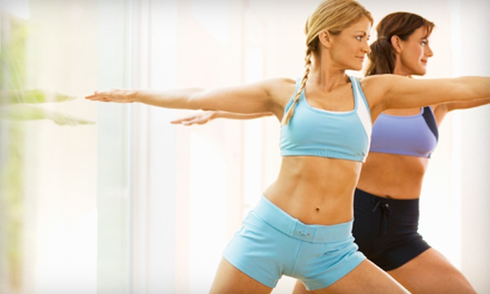 one love hot yoga - Ridgewood: 5 or 10 Hot-Yoga Classes or One Month of Unlimited Spinning Classes at one love hot yoga in Ridgewood (Up to 89% Off)