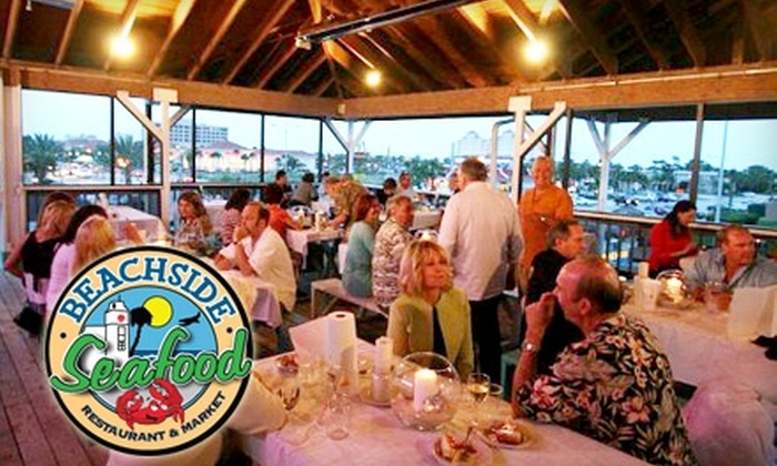 Beachside Seafood - Jacksonville Beach: $18 for $40 Worth of Fresh Seafood and Drinks at Beachside Seafood in Jacksonville Beach