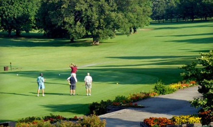 Finkbine Golf Course - Horn: Golf Outing with a Cart Rental for One or Two People at Finkbine Golf Course