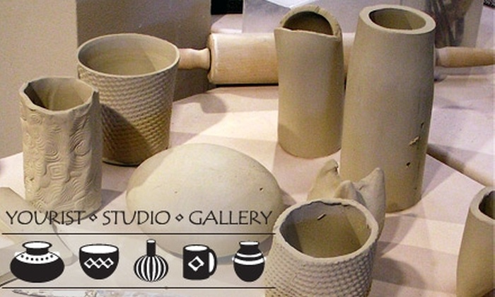 Yourist Studio Gallery - Northside: $20 for an Introductory Clay-Working Experience at Yourist Studio Gallery in Ann Arbor ($40 Value)