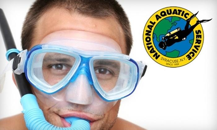 National Aquatic Service - Syracuse: $29 for Intro Snorkeling Class at National Aquatic Service ($59 Value)