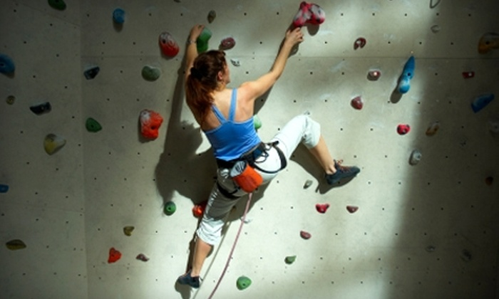 New Jersey Rock Gym - Fairfield: $49 for a Belay Certification Class and One-Month Membership to New Jersey Rock Gym in Fairfield (Up to $107.41 Value)