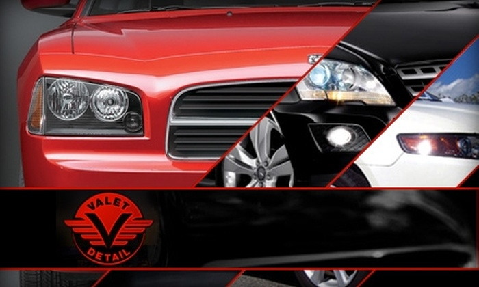 Valet Detail - Central Business District: Up to 52% Off Auto Services and Parking. Choose from Three Options.