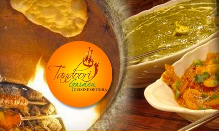 Tandoori Garden - The Colony: $15 for $30 Worth of Fine Indian Dining and Drinks at Tandoori Garden in Anaheim