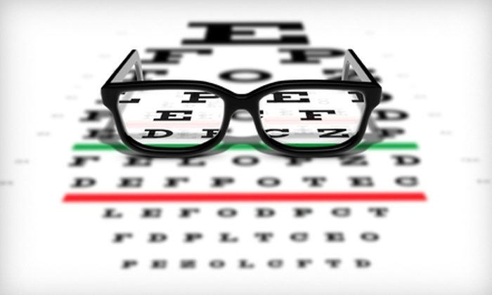Little Rock Eye Clinic - Multiple Locations: $69 for Eye Exam and $100 Toward Glasses at Little Rock Eye Clinic ($308 Value)