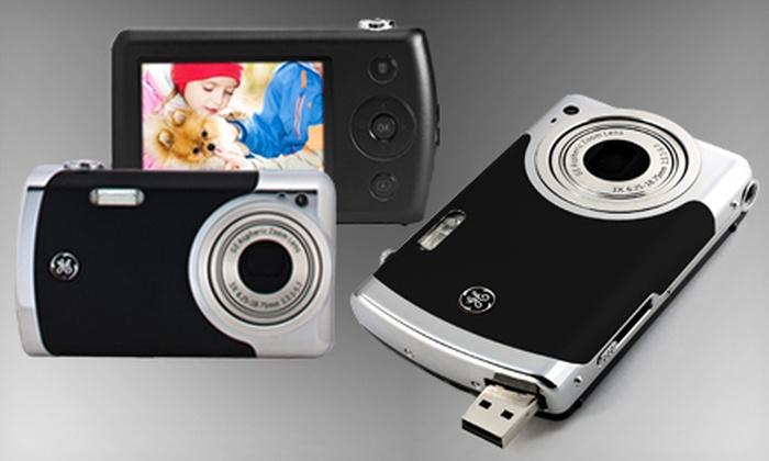 GE Digital Camera Designed by Jason Wu: $59 for Black Metal Create 12-Megapixel Digital Camera ($129.99 Value)