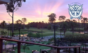 Parkwood Village, Home Of the Gold Coast Titans: 18-Hole Mini Golf for Up to Eight People ($59) at Club Parkwood, Home of The Gold Coast Titans (Up to $128 Value)