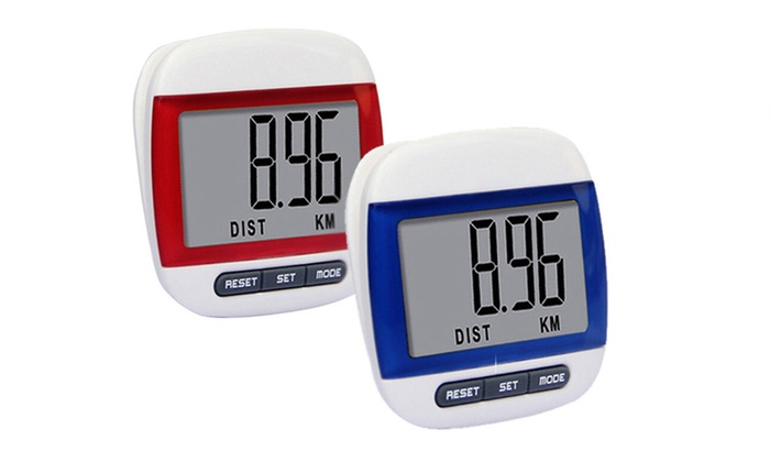 Trend Matters Multi-function Digital Pedometer