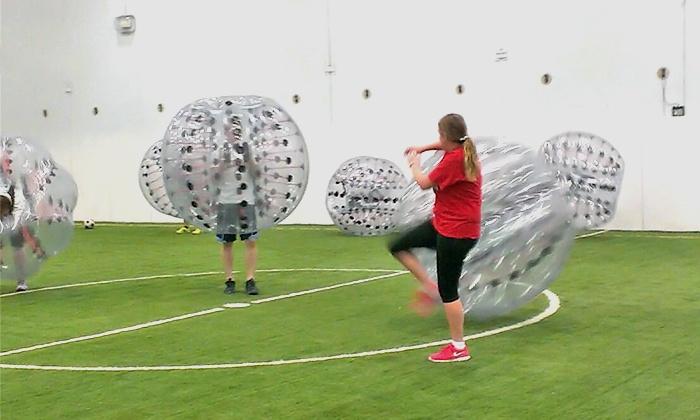 Gametime Training Center - Fairfield: $249 for 3-Hour Bubble Party Package at Gametime Training Center ($645 Value)