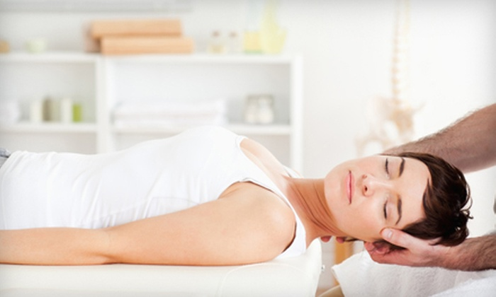 ChiroMassage Centers - Medwell Spine: $19 for Four 15-Minute HydroMassage Sessions and a Health Consultation at ChiroMassage ($105 Value)