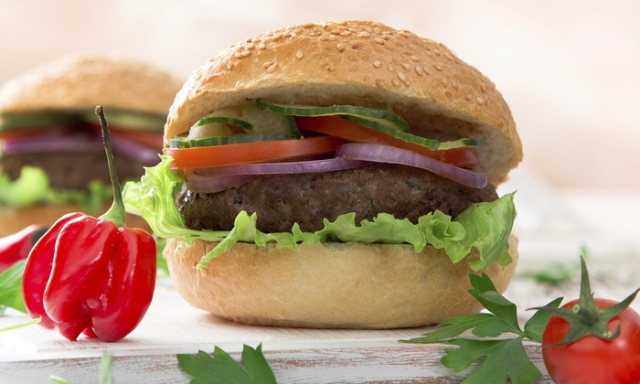 Medway Vfw Bar & Grill - Medway: Two Burgers at Medway VFW Bar & Grill (40% Off)