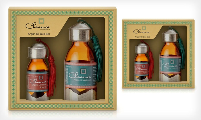 Chaacoca Argan-Oil Duo: $39 for a Chaacoca Argan-Oil Duo for Skin, Hair, and Nails ($84 List Price)