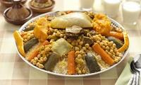 Couscous avec viande au choix et thé sur place ou à emporter pour 1 ou 2 pers. dès 11,50 € au restaurant Couscous Du Sud