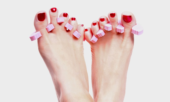 Aida Spa - Downers Grove: One or Three Mani-Pedis at Aida Spa (Up to 55% Off)