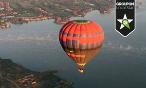 Life Ballooning: Sunrise Balloon Flight with Breakfast and In-Flight Photo from R2 730 for Two with Life Ballooning (Up to 65% Off)