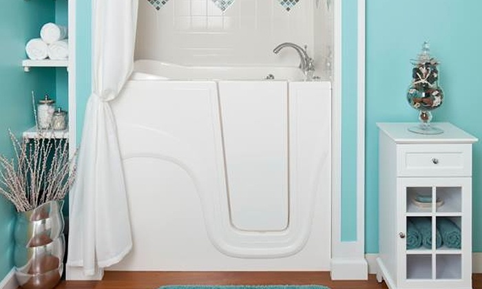 Walk-In Bathtub - Liberty Bathing Walk In Tub | LivingSocial