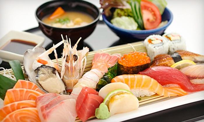 Sakura - Lee's Summit: Sushi and Asian Cuisine at Sakura (Half Off). Three Options Available.