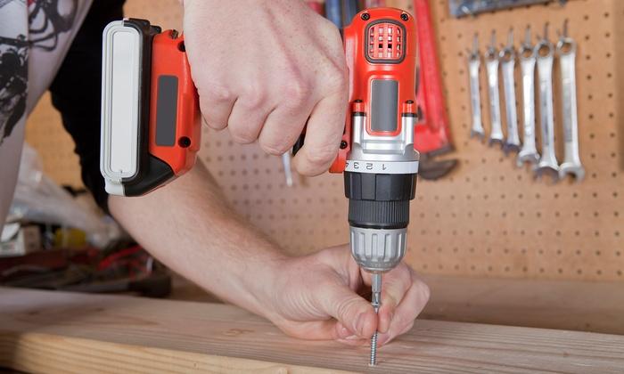 E&T's Handyman Services - Jacksonville: $279 for Full Day of Handyman Services from E&T's Handyman Services ($499 Value)