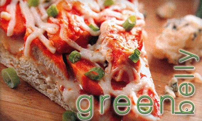 Green Belly - West Omaha: $8 for $17 Worth of Gourmet, Eco-Friendly Grilled Pizzas, Homemade Salads, Soups, and More at Greenbelly