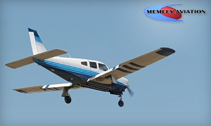Memley Aviation - Edison: $99 for a One-Hour Discovery Flight and One Hour of Ground Instruction from Memley Aviation ($205 Value)