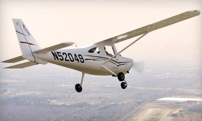 Bob Miller Flight Training - Lancaster: $74 for a 30-Minute Discovery Flight for Two from Bob Miller Flight Training ($149 Value)