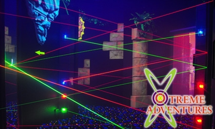 Xtreme Adventure Family Fun Center - Central Pasco: $10 for Three Laser-Tag Games and One Draft Beer at Xtreme Adventures Family Fun Center in Lutz ($22 Value)