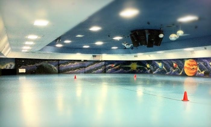Skate Heaven - Denham Springs: $6 for a Skate Session, Skate Rental, and One Laser-Tag Game at Skate Heaven ($13 Value)