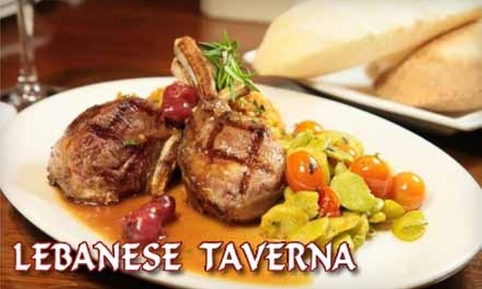 Lebanese Taverna - Little Italy: $20 for $40 Worth of Fare and Drinks at Lebanese Taverna