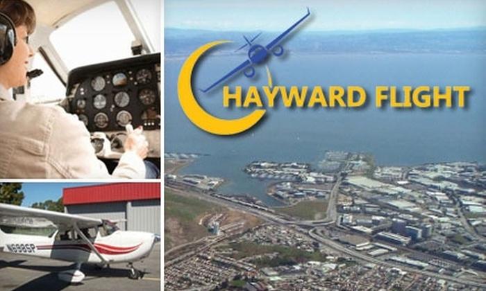 Hayward Flight - Hayward: $150 for a Two-Hour Flying Lesson at Hayward Flight ($285 Value)