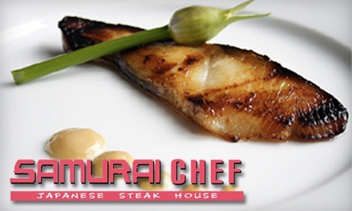 Samurai Chef Japanese Steak House - Independence: $15 for $30 Worth of Asian Fare at Samurai Chef Japanese Steak House in Independence