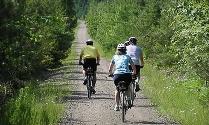 Train Station Bike & Bean - Upper Tantallon: $30 for Two Bike Rentals and Two Drip Coffees from Train Station Bike & Bean ($63.20 Value)