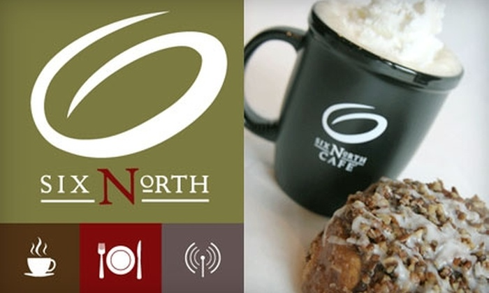 6 North Café  - Multiple Locations: $5 for $11 Worth of Coffee, Sandwiches, Salads, and More at 6 North Café