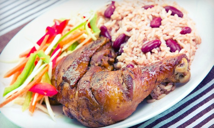 Painted Parrot - West Allis: Caribbean Meal for Two or Four with Entrees and Island Drinks at Painted Parrot (Up to 62% Off)