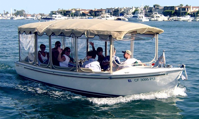 The Electric Boat Company - Lake Union and surrounding waterway : $139 for a Two-Hour Rental of a 21-Foot Electric Boat at The Electric Boat Company ($198 Value)