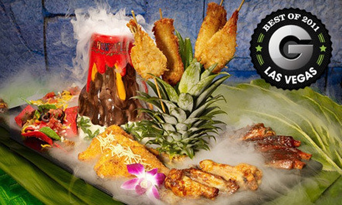 Kahunaville Island Restaurant & Party Bar - Las Vegas, NV: $26 for an Island-Themed Dinner for Two at Kahunaville Island Restaurant & Party Bar (Up to a $53.96 value)