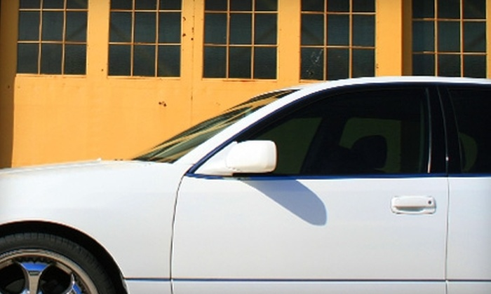T&T Tinting Specialists - Multiple Locations: FormulaOne Auto Tinting or Vista Window Film Home Tinting at T&T Tinting Specialists