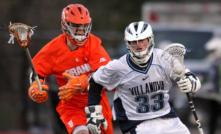 Big East Men's Lacrosse Championship on 5/3 at 4:30PM & 7PM and 5/5 at 12PM: 1 Adult and 1 Youth Ticket (GA) - Big East Men's Lacrosse Championship in Villanova