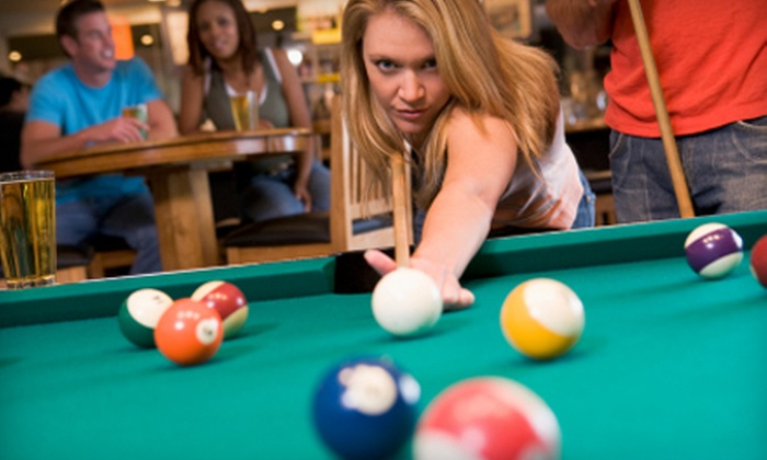 Main Street Billiards - Detroit: $24 for a Pool Game Night Out at Main Street Billiards in Rochester (Up to $55.50 Value)