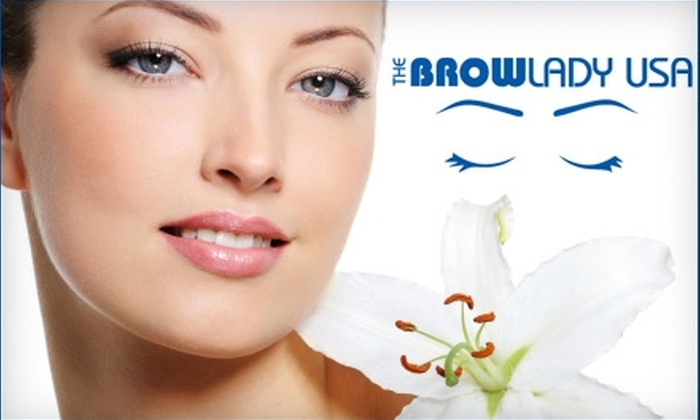 The Brow Lady USA - Downtown Scottsdale: $15 for a Brow Shaping at The Brow Lady USA in Scottsdale ($30 Value)