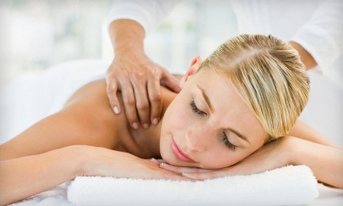 d compress - Lower Burrell: $35 for a 60-Minute Massage ($70 Value) or $30 for a 60-Minute Custom Focus Facial ($60 Value) at d compress in Lower Burrell