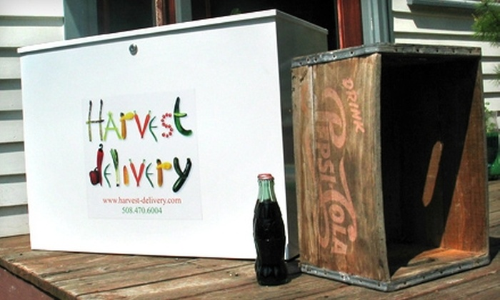 Harvest Delivery: $399 for Four Produce Deliveries and a Cooler from Harvest Delivery ($705.76 Value)