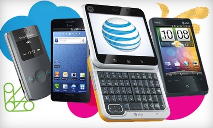 Mobile Communications - Multiple Locations: $25 for $50 Toward AT&T Phones and Accessories at Mobile Communications
