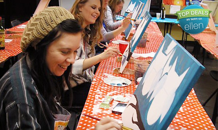 Paint Along Nashville - Brentwood: BYOB Painting Class for One or Two at Paint Along Nashville in Brentwood (Half Off)