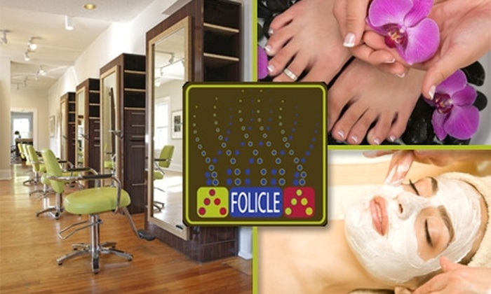 Folicle - Charlotte: $25 for $50 Worth of Salon and Spa Services at Folicle