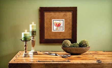 $100 Groupon for Custom Framing at Aaron Brothers Art & Framing - Aaron Brothers Art & Framing in Redmond