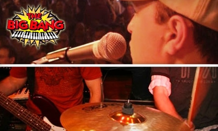 The Big Bang - Downtown Nashville: $20 for a Reserved Table, Admission for Up to Four People, Drink Koozies, and a Platter of Appetizers at The Big Bang ($50 Value)