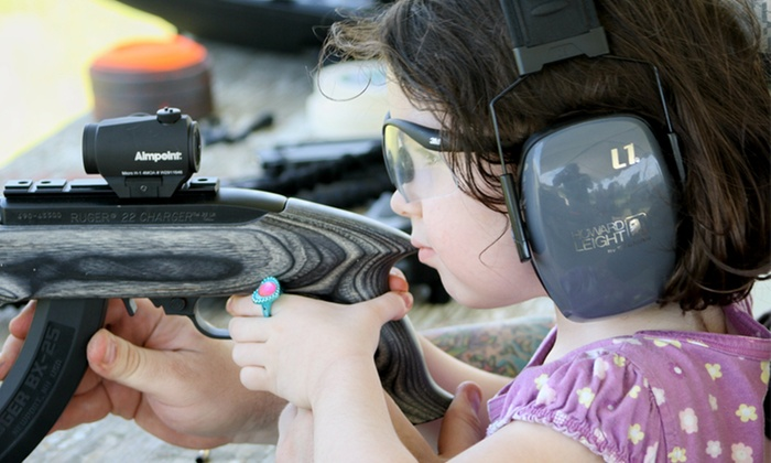 Family Firearms - East County Civic Group: Kids' Firearms-Safety Class for One or Two Children at Family Firearms (Up to 61% Off)